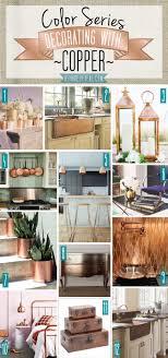 Copper Kitchen Decorations 25 Best Ideas About Copper Decor On Pinterest Copper Bedroom