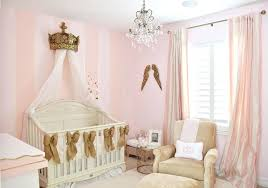chandeliers for baby nursery pink