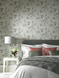 Rosemore Behang 1838 Wallcoverings Taupe Luxury By Nature