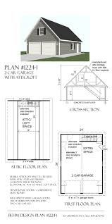 Free garage building plans detached wholesale Sds 24 34 Garage With Loft Plan By Behm Design Uses Attic Trusses To Create Second Story Loft Space Accessed By Inside Stairway Along Rear Wall Horizon Structures 24 34 Garage With Loft Plan By Behm Design Uses Attic Trusses To