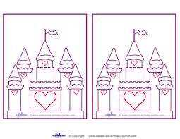 blank printable castle invitations coolest printables you can print this invitation design on colored paper or print on white paper and let your kids color in markers colored pencils crayons etc y