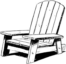 adirondack chairs clipart. Modren Adirondack On Adirondack Chairs Clipart I
