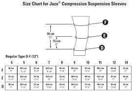 Juzo Expert 3232dg 30 40 Mmhg 14in 35cm Seamless Suspension Sleeve