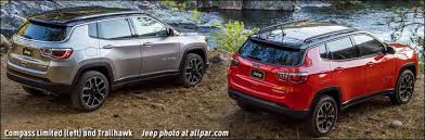 2018 jeep compass trailhawk. brilliant compass compass trailhawk vs limited to 2018 jeep