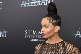 Red Carpet Hairstyles 69 Wonderful Hairstyle Trends Zoe Kravitz Hits The Red Carpet With Baby Hair