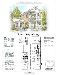 Shotgun Home 2 Story Shotgun House By C3 Studio Llc French Colonial Inspired