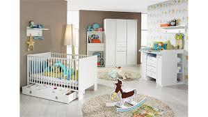 Set LENI komplett Kinderzimmer in weiß 9 teilig