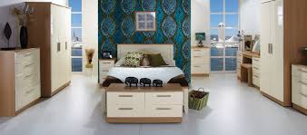 Cream High Gloss Bedroom Furniture  PierPointSpringscom - Black and walnut bedroom furniture