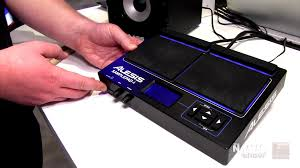 Long & McQuade @ NAMM 2016: Alesis Sample Pad 4 - YouTube