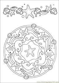 Mandala Da Colorare Per Bambini Foto 1240 Pourfemme Colored