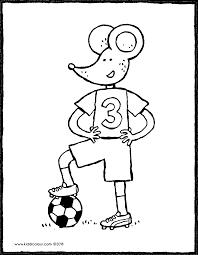 Lowie Als Voetballer Kiddicolour