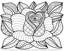 Attractive Ideas Flower Coloring Pages Free Spring Sheets Flowers