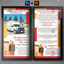 Moving Flyer Template Moving And Packing Service Premium Dl Psd Ai Flyer Template