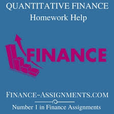 corporate finance homework help finance assignment help financial planning · quantitative finance