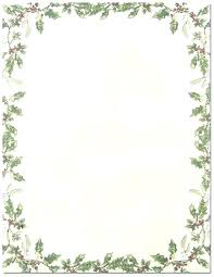 Christmas Stationery Templates Word Template Letter Free Stationery