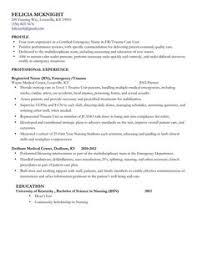 Registered Nurse Resume Example To Learn The Best Resume Writing ...