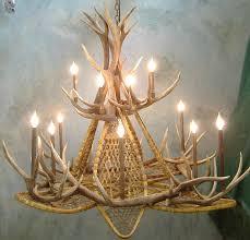 cast antler chandelier hampton bay antler chandelier deer antler chandelier