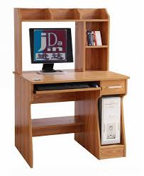 cute small wood computer desk with drawerand pull out keyboard shelf