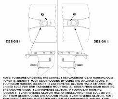 Gear Housing Chart 2 07 1 2 31 1 Gear Ratio For Mercury