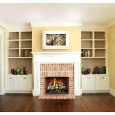 propane fireplace logs vented with remote ventless gas control napoleon reversible log set electronic ignition split