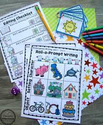 Kindergarten Writing Unit 1 - Planning Playtime