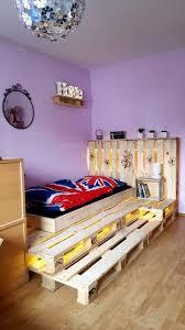Pallet Bedroom Furniture 42 Diy Recycled Pallet Bed Frame Designs