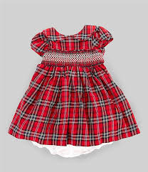Pippa And Julie Size Chart Pastourelle By Pippa Julie Baby Girls Newborn 24 Months Plaid Fit And Flare Dress