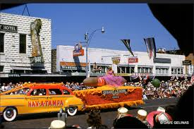 Coca Cola St Petersburg Fl 1947 Chrysler Hav A Tampa Cigars Parade Float Cigar Bowl Queen