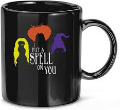 3.where is the stress in coffee? Amazon Com Reindeer I Put A Spell On You Ladies Coffee Mug For Women And Men Tea Cups Home Kitchen