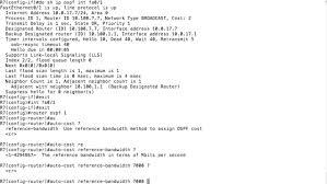 Ospf Cisco Cost Modification