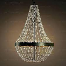 wrought iron crystal chandelier mini