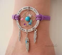 Personalized Dream Catchers Handmade Dream Catcher Bracelet Feathers Dream Anklet Personalized 3