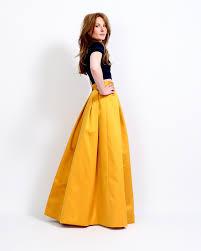 ball gown skirt. marigold satin ball gown skirt s