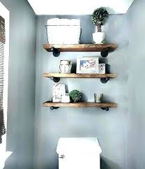 floating shelf above toilet bathroom shelves over toilet custom vanities with floating shelf behind toilet