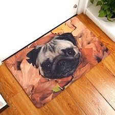 soft non slip rectangle cute dog printed carpet mats bath decor area rug chewing rugs nonslip
