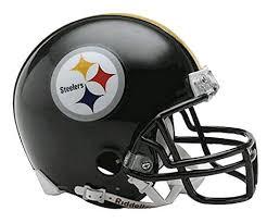 Football Helmet Replica Pittsburgh Steelers Nfl Mini