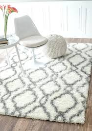 gray and white rug trellis soft and plush white rug 5 feet 3 inches by gray and white rug