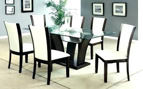 black dining room furniture sets. Black Dining Room Chairs Glass Tables And Furniture Sets E