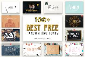 Free font, not to be distributed • file size: 100 Best Free Handwriting Fonts For Designers 2020 Creativetacos
