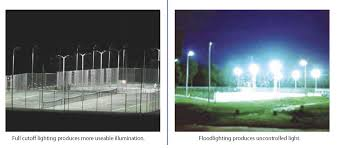 ideas for developing dark sky standards for outdoor tennis court lighting