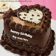 happy birthday wishes chocolate cake