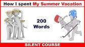 essay summer vacation words  1 36