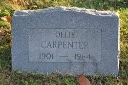 Ollie Carpenter (1901-1964) - Find A Grave Memorial