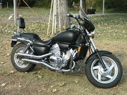 1996 honda magna 750cc vf750 hot rod black v4 cobra exhaust corbin seat us 1 358 00