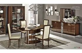 contemporary italian dining room furniture. roma modern italian dining table collection contemporary room furniture