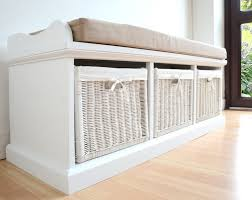 Wicker Bedroom Bench King Storage Bench Foot Of Bed Storage Ottoman