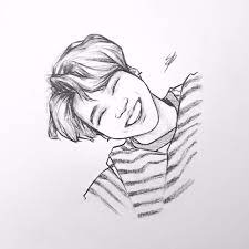 Touch device users, explore by. Bts Fanart Easy Bts 2020