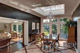 living rooms with skylights offering natural light 12 living