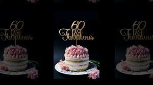 60th Birthday Cake Ideas Cake Decoration Ideas Youtube