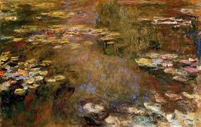 paintings reions monet claude oscar the water lily pond 1917